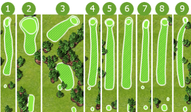 North Course hole shapes1